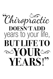 Chiropractic Quality Of Life Decal