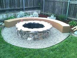 circle area fire pit patio dimensions