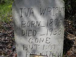 Iva Wright (1895-1933) - Find A Grave Memorial