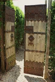 antique wooden garden gate 3 garden