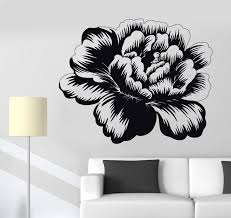 Vinyl Wall Decal Bud Rose Flower Garden Nature Girl S Room Decor Stick Wallstickers4you