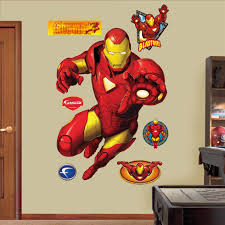 Iron Man Giant Wall Decal Ironman Triathlon Hanging Gold Art For Home Painting Truck Stickers Amazon Vamosrayos