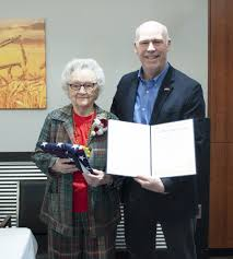 Glasgow Resident Recognized For Service to Country and Community - The  Glasgow Courier