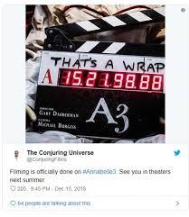 Annabelle 3' chính thức đóng máy: Trailer đầu tiên đã chính thức ...