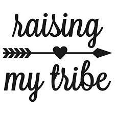 Amazon Com Raising My Tribe Decal 5 X 4 Inches Handmade