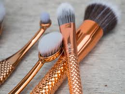 langnickel moda rose gold metallics brushes