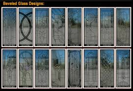 glass inserts for entry doors
