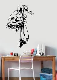 Amazon Com Flash Wall Vinyl Sticker Vinyl Decal Comics Superhero Art Best Decorations For Home Living Room Bedroom Teen Kids Boys Room Decor Made In Usa Fast Delivery Home Kitchen