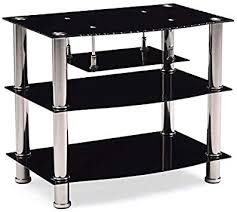 pemberly row 27 wide glass tv stand