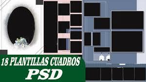 Pack De 18 Multicuadros Psd Editables Plantillas Para Photoshop