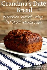 date bread recipe