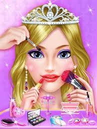 beauty salon and makeup games