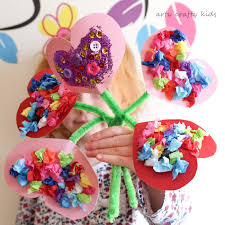 Image result for paper heart bouquet