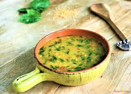 dal palak spinach dal instant pot