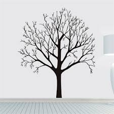 Click To Buy Pvc Removable Wall Stickers Home Decor Tree Sticker 60 90cm Diy Decoration L Family Tree Wall Sticker Tree Branch Wall Art Diy Wall Stickers