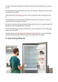 Dịch vụ sửa tủ lạnh không chạy uy tín tại TPHCM
