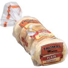 thomas bagels plain casey s foods