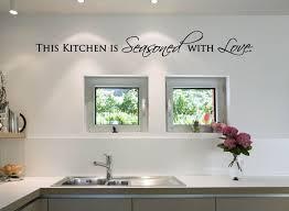 This Kitchen Is Seasoned With Love Vinyl Decal Kitchen Vinyl Etsy