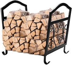 pinty fireplace log holder wrought iron