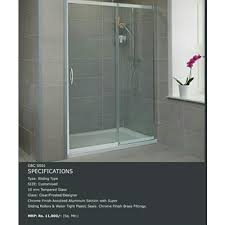 shower partition at rs 600 square feet
