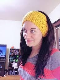 The Bean earwarmer/headband | Crochet ear warmer, Crochet ear warmer  pattern, Crochet headband