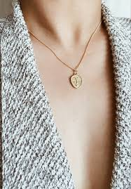 ashley summer co womens gold necklace