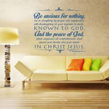 Philippians 4 6 7 Bible Wall Decal Divine Walls