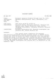 DOCUMENT RESUME ED 048 477 VT 012 602 TITLE INSTITUTION PUB DATE EDRS PRICE  DESCRIPTORS IDENTIFIERS ABSTRACT Manpower Research P