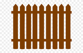 Gate Clipart Wooden Gate Black Picket Fence Clipart Png Download 627002 Pinclipart