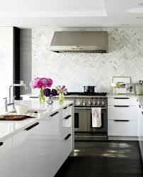 plan kitchen decor in white modern