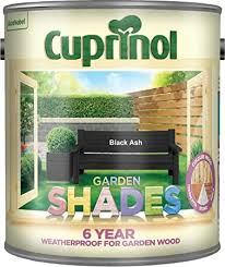 Cuprinol 5083469 Garden Shades Exterior Woodcare Black Ash Amazon Co Uk Diy Tools