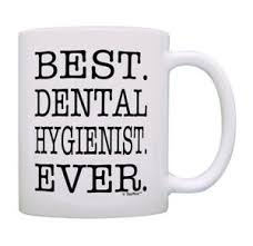 gifts best dental hygienist ever mug