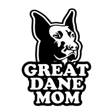 Great Dane Mom Dog Vinyl Decal Stickers The Tc Shop