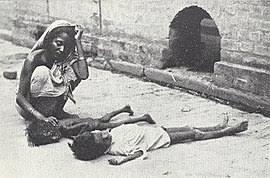 bengal famine of
