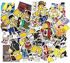 Amazon Com Simpsons Stickers
