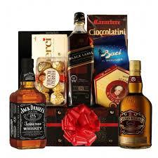 trio whisky whisky gift basket send