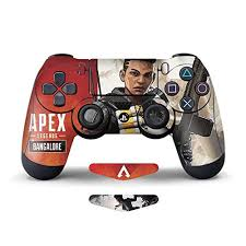 Amazon Com Apex Legend Ps4 Controller Skin 2 Pack Vinyl Sticker Decal Cover Protective For Dualshock 4 Ps4 Controller By Mr Wonderful Skin Video Games