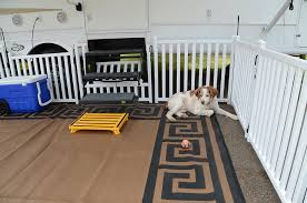 Picket Play Portable Camping Dog Fence
