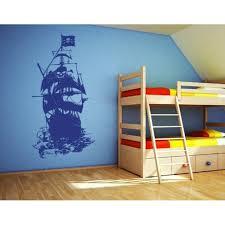 Henry Morgan Pirate Ship Wall Decal Wall Decal Sticker Mural Vinyl Art Home Decor 3928 Red 24in X 44in Walmart Com Walmart Com