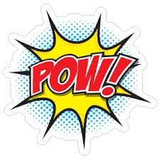 Pow Comic Sticker