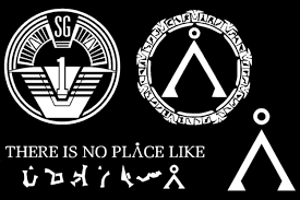 Stargate Inspired Decal Multipack Sg1 Gate There Is No Place Like Home Stargate White Amazon Ca Home Kitchen