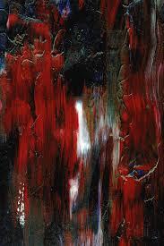 Streaks of Red Digital Art by Carlene Smith