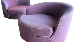 oversized barrel chair