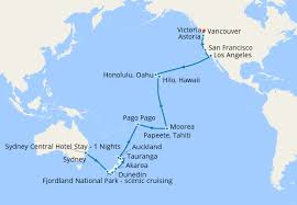 hawaii tahiti south pacific crossing