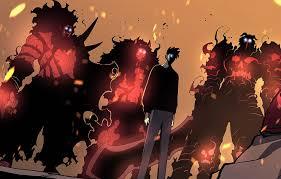 wallpaper guy demons sung jin woo