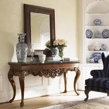 elegant console table and mirror at rs