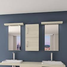 wall mounted bathroom mirror led