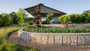 8 Creative Ways With A Gabion Wall