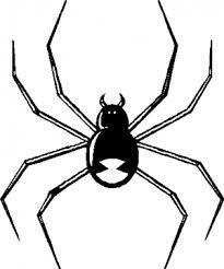 Black Widow Spider Car Or Truck Window Decal Sticker Or Wall Art Decalsrock
