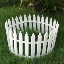 worth plastic garden fence outdoor